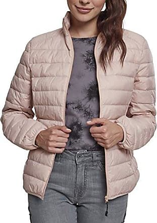 Urban Classics Ladies Basic Cotton, Parka para Mujer, Rosa (Rose 1075), X-Small