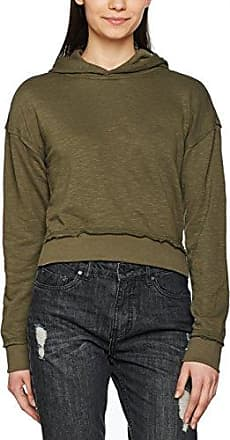 Urban Classics Ladies Long Wideneck Sweater, Jersey para Mujer, Verde (Olive), Medium