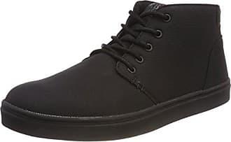 Urban Classics Unisex-Erwachsene Low Sneaker Slip on, Schwarz (Blk/Blk), 42 EU