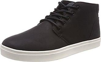 Urban Classics Unisex-Erwachsene Velour Sneaker, Mehrfarbig (Blk/Stripes), 42 EU