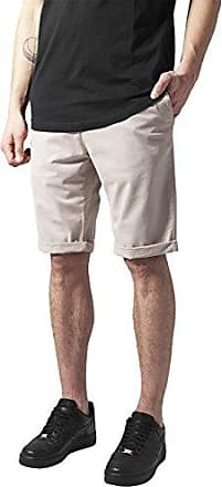 Urban classics Stretch Turnup Chino, Short Homme, (Black 7), 44 (Taille Fabricant: 30)