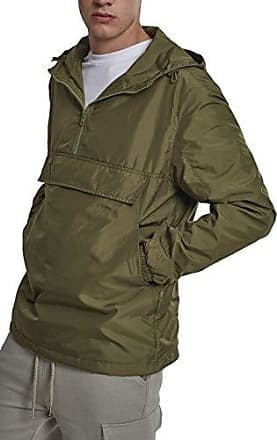 Basic Pullover, Jersey para Hombre, Verde (Olive 00176), XX-Large Urban Classics