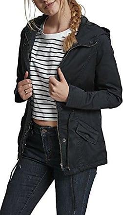 Urban Classics Ladies Basic Cotton, Parka para Mujer, Blau (Navy 155), Large
