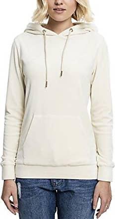Urban classics Ladies Teddy Zip Hoody, Sweat-Shirt à Capuche Femme, (Sand 208), Large