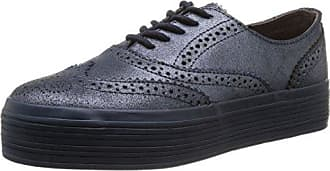 Urbain Vecteur De Marche - Chaussures À Lacets En Cuir Gris Pour Femmes (poudre Voler) 41 HiZItem