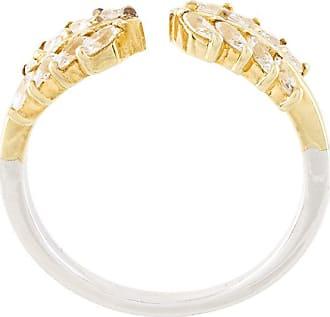 V JEWELLERY Wreath ring - Yellow & Orange ajoewC