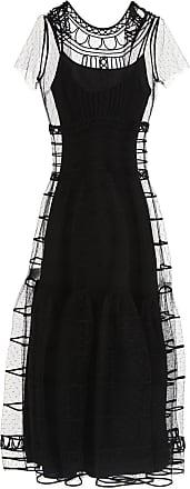 Robe Pour Les Femmes, Soirée Cocktail Fête À La Vente, Noir, Polyestere, 2017, 10 12 Valentino
