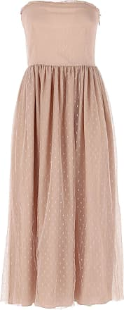 Dress for Women, Evening Cocktail Party On Sale, Powder Rose, polyamide, 2017, 8 Valentino