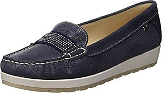 VALLEVERDE Scarpa, Zapatos de Cordones Brogue para Hombre, Azul (BLU BLU 18ee), 42 EU