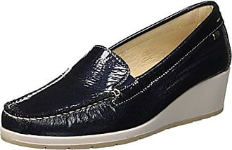 Scarpa, Mocasines (Loafer) para Mujer, Beige (Beige Beige 18ee), 38 EU Valleverde