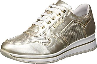 Scarpa Platino, Chaussures de Gymnastique Femme, Or (Platino Platino 18ee), 37 EUValleverde