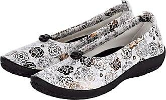 Vamos De Chaussures De Confort Blanc / Couleur Or apXAGxOza