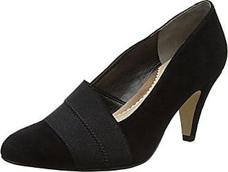 Van Dal 2780 - Zapatos de Tacón con Punta Cerrada de Cuero Mujer, Color Rojo, Talla 39