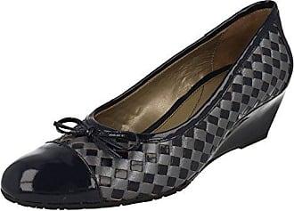 Stanton, Damen Slipper, Blau - Navy - Größe: 37 Van Dal
