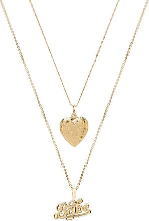 X REVOLVE Babe Necklace in Metallic Gold Vanessa Mooney QT1F7tB