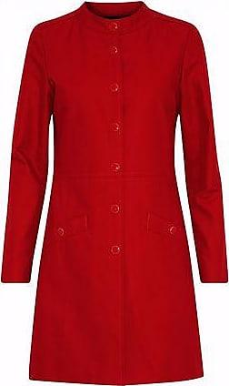 Vanessa Seward Woman Cotton-gabardine Coat Red Size 38 Vanessa Seward Clearance Collections Pick A Best Sale Online lZ9eNPBH