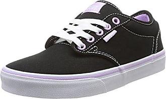Vans Atwood, Unisex-Kinder Sneakers, Schwarz ((Canvas) Black/186), 36.5 EU