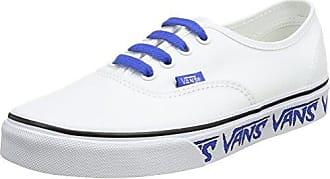 Vans Authentic, Baskets Mixte Adulte, Blanc (Sketch Sidewall), 41 EU