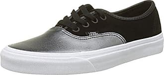 Vans Old Skool Leather, Zapatillas para Mujer, Negro (2-Tone Metallic/Black/True White), 35 EU