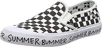 Slip-on SF, Damen Sneakers, Mehrfarbig (Summer Bummer/Checkerboard), 40.5 EU Vans