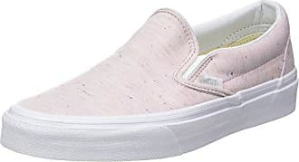 Vans Damen UA Classic Slip-on Sneaker, Pink (Tropical Peach/True White), 40.5 EU