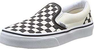 Vans Unisex-Erwachsene Classic Slip-on Sneaker, Rot (Checkerboard), 37 EU