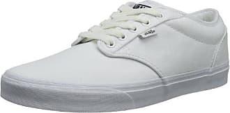 Atwood, Sneaker Uomo, Bianco (Black Foxing), 38.5 EU Vans