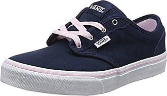 Vans Atwood, Zapatillas para Mujer, Azul (Canvas Nvy/Wht 4K1), 40.5