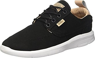 Vans UA Brigata, Scarpe da Ginnastica Basse Uomo, Nero (Washed Canvas Pirate Black/White), 42.5 EU