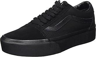 Vans Unisex Baby Old Skool Zip Sneaker, Schwarz (Suede/Black/Gold), 21 EU