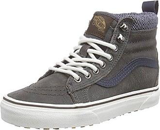 Vans Sk8-Hi, Sneaker Unisex-Adulto, Nero (MTE/Black/Leather/Gum), 34.5 EU