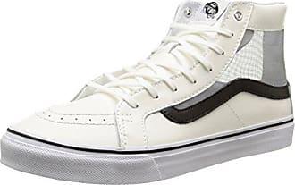 Vans Milton Hi, Sneakers Hautes Homme, Gris (Palm Leaf/Gray/White), 41 EU (7.5 UK)