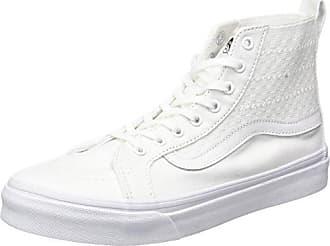 Authentic Slim, Sneakers Basses Mixte Adulte, Multicolore (Frayed Native/TRUE White), 37 EU (4.5 UK)Vans