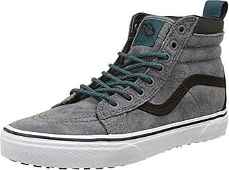 sk8-Hi, Sneakers Hautes Mixte Adulte, Bleu (MTE Evening Bleue/TRUE White), 36.5 EUVans