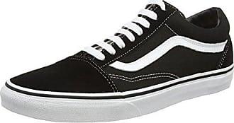 U Authentic Decon Leather, Sneakers Basses Mixte Adulte - Noir (Black/Black) - 45 EU (Taille Fabricant : 11.5 US)Vans