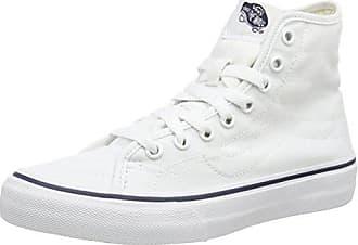 Vans U SK8-HI Decon, Unisex-Erwachsene Hohe Sneakers, Blau ((Canvas) Dress Blues/True White), 37 EU
