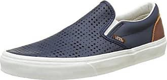 Vans UA Classic Slip-On, Zapatillas para Mujer, Blanco (Sayings), 42 EU
