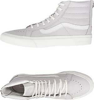 UA SK8-HI SLIM ZIP - LEATHER - CALZATURE - Sneakers & Tennis shoes alte Vans QQ40j