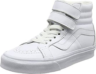 SK8-Hi Reissue, Sneakers Hautes Mixte Adulte, Blanc Cassé (White/Stripes), 34.5 EU (2.5 UK)Vans