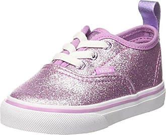 Vans Authentic Elastic Lace, Zapatillas Unisex Bebé, Gris (Shimmer Jersey), 34 EU