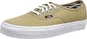 Authentic, Unisex-Erwachsene Sneakers, Beige Doren/Poinsettia/Classic White, 47 EU Vans