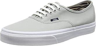 Brigata, Sneakers Basses Mixte Adulte, Gris (Leather/Plaid/Asphalt/Beluga), 34.5 EU (2.5 UK)Vans