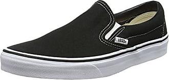 Vans Unisex-Erwachsene Classic Slip-On Low-Top, Schwarz ((Checkerboard) black/black), 48 (EU)