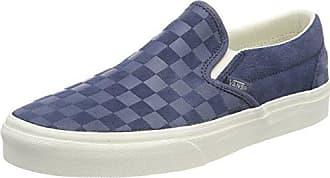 Vans Classic Slip-On, Zapatillas sin Cordones para Mujer, Verde (Blue Flower/Gum Q9t), 42.5 EU