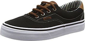 Authentic, Basses Mixte Adulte - Noir (C L/Black/STR), 35 EU (3 UK)Vans