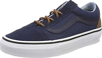 Old Skool, Baskets Mixte Adulte, Bleu (C/Yellow), 40.5 EUVans