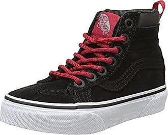 Vans Sk8-Hi, Sneakers Hautes Mixte Enfant, Noir (MTE Black/Lime Punch) 27 EU