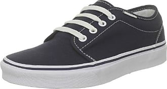 Vans - Zapatillas de skate unisex, color negro/gris/azul (black/grey/french blue), talla 36.5