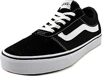 Vans WM Milton, Sneakers Basses Femme, Noir (Canvas Black/White), 38 EU