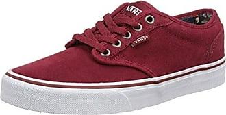 Vans Authentic, Chaussures de Running Mixte Adulte, Rouge (Madder Brown/True White), 46 EU